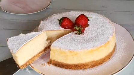 Cheesecake allo yogurt: la ricetta gustosa che si prepara facilmente