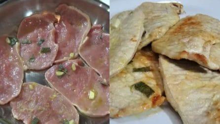 Fettine di maiale marinate: la ricetta del secondo piatto veloce e saporito