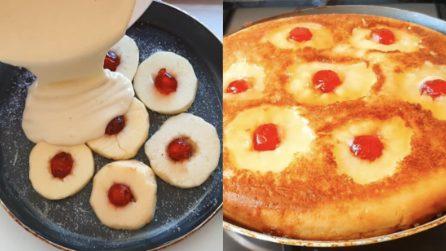 Torta di mele rovesciata: il metodo per cuocerla in padella