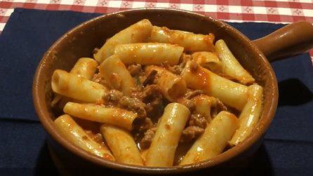 Rigatoni al sugo di salsiccia: il primo piatto davvero delizioso