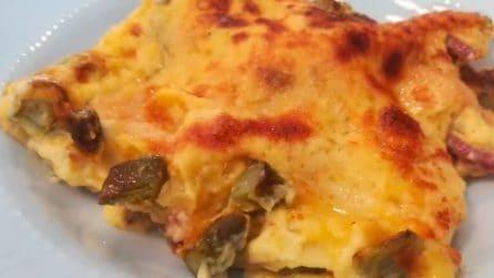 Lasagne asparagi e speck: il primo piatto ricco e squisito