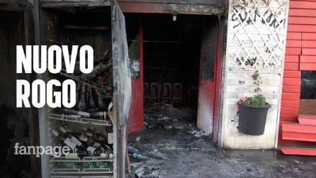 """Nuovo rogo a Centocelle, incendiato bar vicino Pecora Elettrica: """"Episodio raccapricciante"""""""