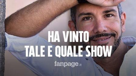 """""""Tale e Quale Show"""", Antonio Mezzancella ha vinto il torneo dei campioni 2019"""