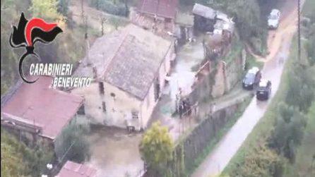 Arrestato a Benevento il boss latitante Stanislao Sperandeo: il video dell'operazione