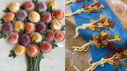 """Le creazioni di Fiona spopolano sui social: """"Vivete una vita a colori come la mia pasta"""""""