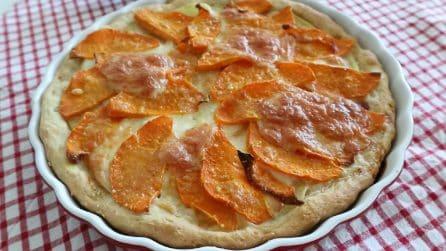 Torta salata con zucca e patate: la ricetta rustica che vi conquisterà