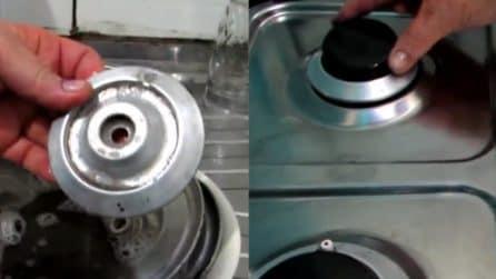 Come pulire il piano cottura in maniera perfetta