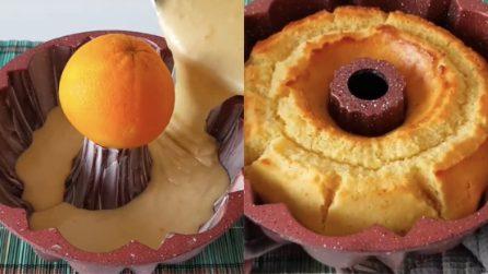 Ciambellone all'arancia: il trucco per averlo ancora più buono