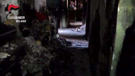 Sorelle morte in un'incendio: le immagini dei Carabinieri nell'appartamento
