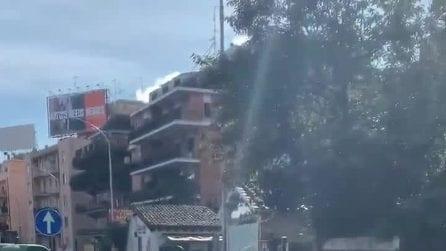 Roma, corso Francia: inseguimento con sparatoria. Salvo Sottile filma tutto