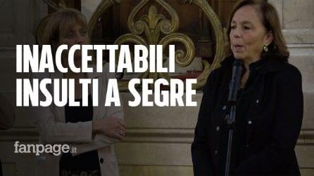"""Roma, Lamorgese visita sinagoga: """"Antisemitismo preoccupa, inaccettabili insulti a senatrice Segre"""""""