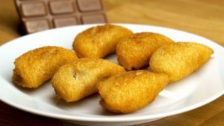 Ravioli al cioccolato: lo snack sfizioso e facile da preparare pronto in pochi minuti!