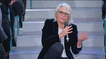 """Uomini e Donne trono over, Maria De Filippi a Gemma: """"Non correre"""""""
