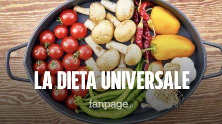 La dieta universale per l'ambiente: il regime alimentare che salvaguardia salute e pianeta