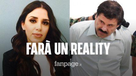 """La moglie di El Chapo protagonista di un reality show: """"Ammiro mio marito"""""""