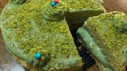Torta al pistacchio: la ricetta del dessert cremoso e goloso