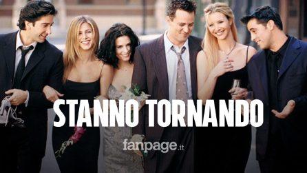 Friends torna in tv: tutto il cast riunito per il 25esimo anniversario della serie