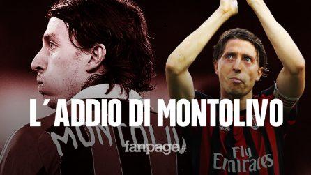 """Riccardo Montolivo si ritira a 34 anni: """"Il Milan mi ha costretto a smettere"""""""