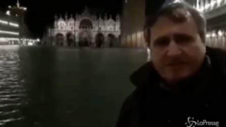 """Acqua alta record a Venezia, il sindaco: """"Chiederemo lo stato di calamità"""""""