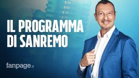 Sanremo 2020: il programma delle 5 serate della 70ᵃ edizione del Festival della Canzone