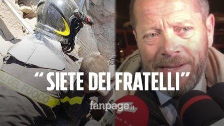 """Terremoto Albania,175 Vigili del Fuoco italiani sul posto. Console in lacrime: """"Siete dei fratelli"""""""