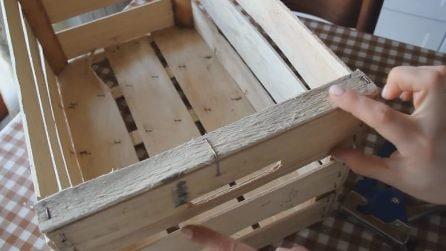 Come riciclare le cassette della frutta: l'oggetto d'arredo originale