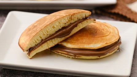 How to make fluffy dorayaki with a bottle!