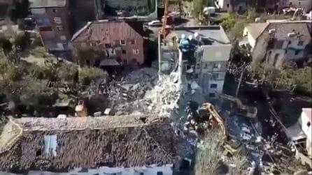 Terremoto in Albania, un intero paese raso al suolo dopo il sisma
