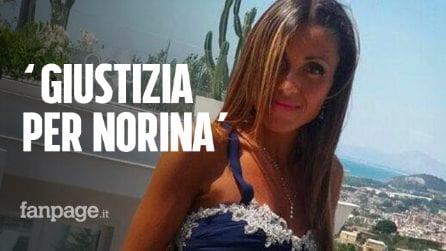 Norina Matuozzo, uccisa dal marito camorrista. A Secondigliano c'è paura: pochi al corteo