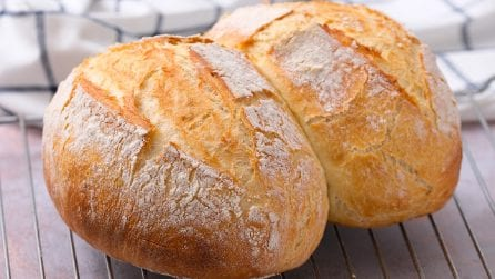 How to make easy bread at home: moist and delicious!