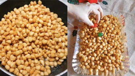 Struffoli napoletani: la ricetta tradizionale, semplice e veloce