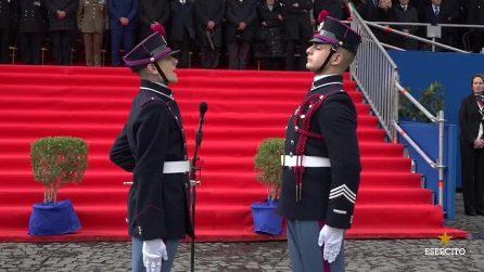 Napoli, il video del giuramento degli allievi della Nunziatella