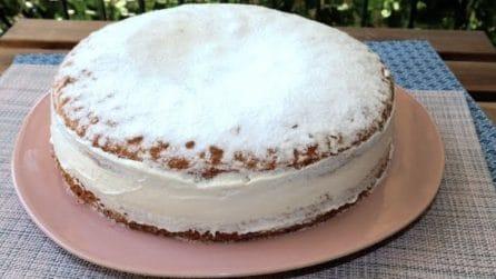 Torta paradiso: cremosa, soffice e deliziosa