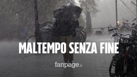 Il maltempo flagella l'Italia: nuovo picco d'acqua alta a Venezia, allerta meteo in 11 regioni