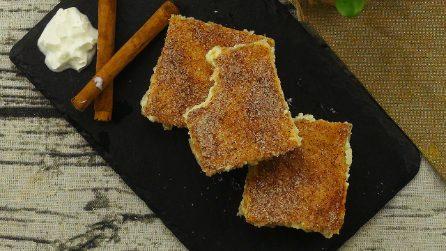 Churro cheesecake: semplice, cremosa e piena di sapore!