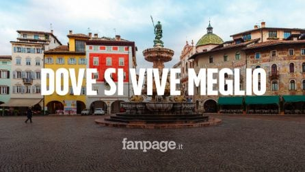 Qualità della vita, Trento è la provincia dove si vive meglio: la classifica completa