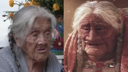 Nonna Coco esiste davvero: ha 105 anni e vive in Messico