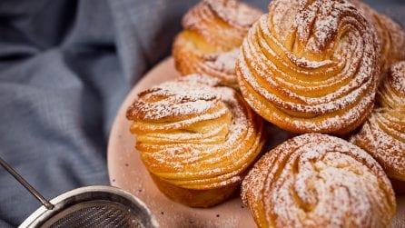 Cruffins: i muffin sfogliati che non vedrete l'ora di provare!