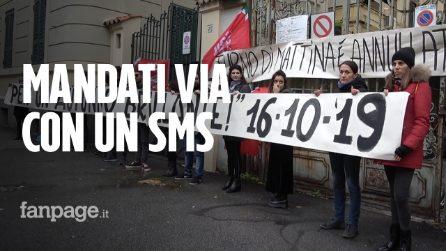 Roma, lavoratori cacciati tramite sms: la rabbia di 40 dipendenti Juwelo
