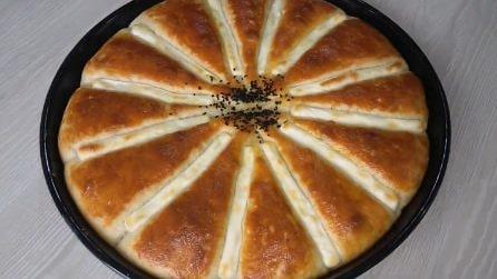 Pizza al formaggio: bella, soffice e buonissima