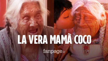 María de la Salud Ramírez è la vera nonna Coco: la dolcissima Mamà ha 105 anni e vive in Messico