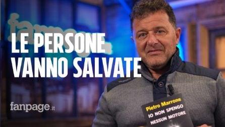 """Il capitano di Mediterranea Pietro Marrone: """"Salvare vite è un dovere, pronto a rifarlo"""""""