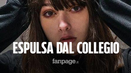 Il Collegio 4: Claudia Dorelfi espulsa dalla scuola durante la quinta puntata