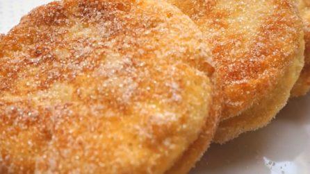 Frittelle di mele con pancarrè: la ricetta semplice e gustosa