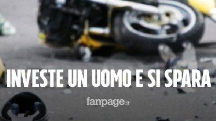 Investe e uccide un motociclista: guardia giurata si toglie la vita con la pistola d'ordinanza