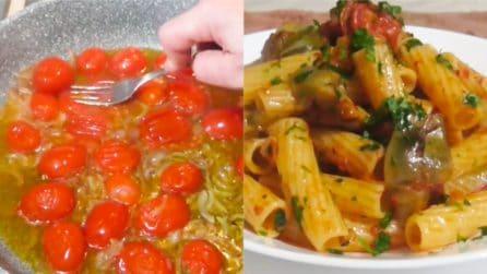 Tortiglioni con carciofi, pomodorini e n'duja: la ricetta del primo piatto saporito