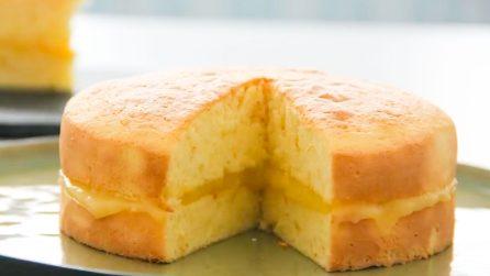 Naked cake all'arancia: la ricetta del dessert soffice e goloso