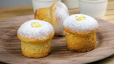 Cream muffin: easy to make and super tasty!