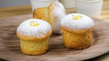 Panettoncini morbidi ripieni di crema pasticcera: troppo deliziosi per non provarli!