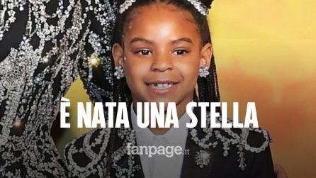 Blue Ivy a 7 anni è già una stella: la figlia di Beyoncé ha vinto il primo premio della sua vita